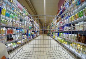 corsia di supermarket