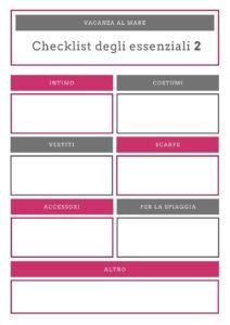 infografica checklist degli essenziali pagina 2