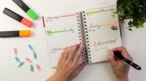 come pianificare un obiettivo in agenda