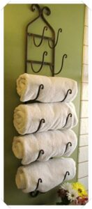 appendi asciugamani da muro