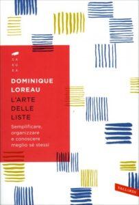 copertina libro di organizzazione personale l'arte delle liste