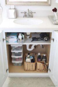 mensola sotto lavabo bagno