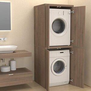 mobile contenitore lavatrice e asciugatrice verticale