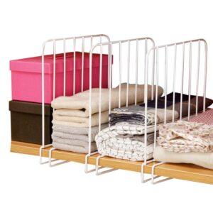 organizer in ferro verticali per indumenti