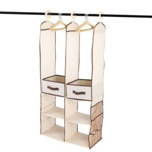 organizer verticale morbido per armadio vestiti