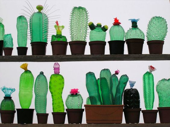 Richterova_creare arte riciclando plastica