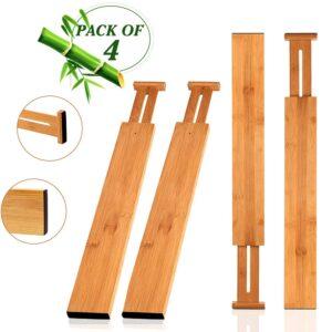 divisori per cassetti wooden life