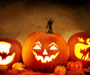 jack'o'lantern di halloween