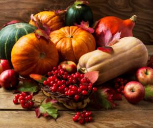 raccolto abbondante per festeggiare halloween, samhain, capodanno celtico