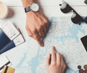 cose da fare in casa a gennaio 2020 - pianificare un viaggio